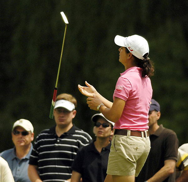 Lorena Ochoa made four birdies and a bogey on the back nine for a T6 finish.