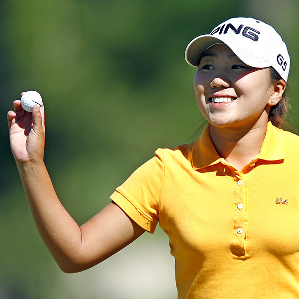 In-Kyung Kim shot a one-under 71 and trails Ochoa by one stroke.