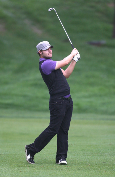 Ryan Moore moved into second place after a five-under 65.