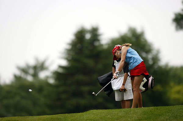 Second Round of the U.S. Women's OpenPaula Creamer shot a one-under 72, and she is in position to contend this weekend for her first major championship.