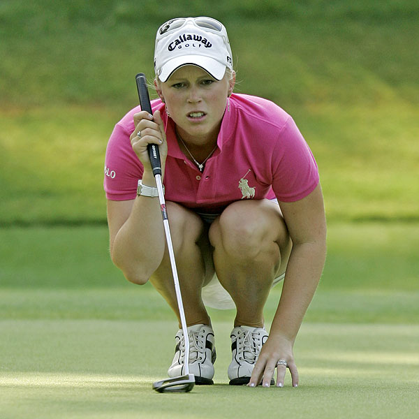 Morgan Pressel had the sixth-best scoring average on the LPGA Tour in 2007.