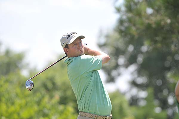 Third Round of Stanford St. Jude Championship                     Tim Clark heated up at just the right time Saturday, and the South African broke a logjam at the Stanford St. Jude Championship to grab the lead for himself. He has a two-shot lead at five under.