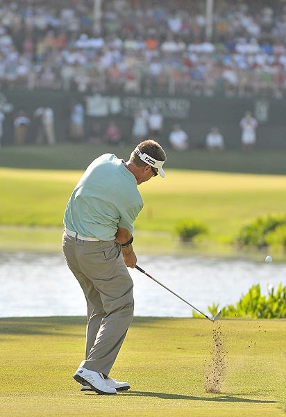 "Allenby had won his last 10 playoffs worldwide. ""I lost to a good putt. There's no bad thoughts about that,"" he said."