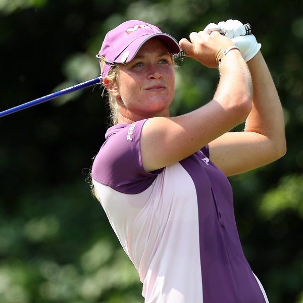 Suzann Pettersen birdied three of her final four holes for a five-under 67. She finished at eight under.