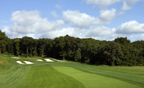 "15th Par-4, 459 yards                                              Regular: Len Mulqueen, 66, metal fabricator                        Handicap: 10                        Rounds at the Black: 150                                              ""What makes this hole difficult is the second shot. It's long and all carry, and you're walking up some 60 feet to get to the green. There's a reason they call it 'Heart Attack Hill.' If you're in the front bunker, it's probably 8 to 10 feet in elevation just to clear the lip.""                                              LOCAL COLOR                                              ""Everyone is equal here. It's democratic. Guys from Shinnecock and Winged Foot sleep in their cars to play. The walls come down. Isn't that what America is about?"" — Charles Cordova"