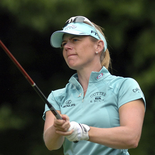 Annika Sorenstam had four birdies and one bogey in her final round. She finished T15.