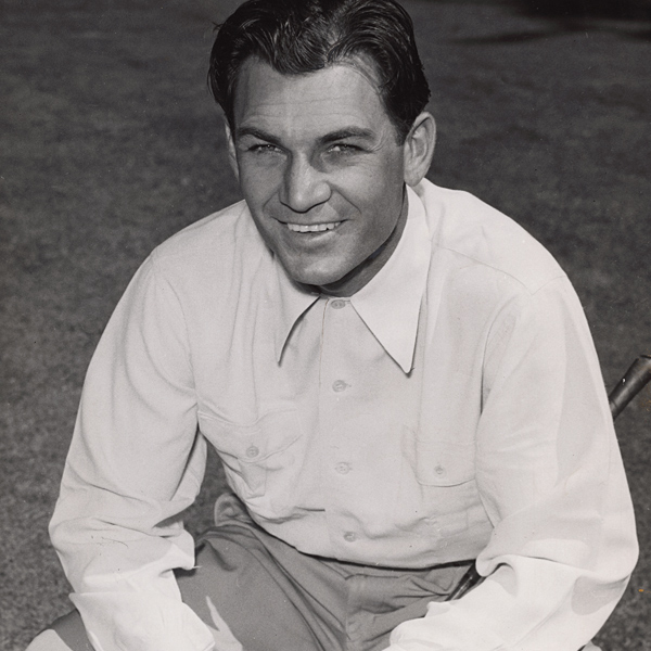 "1953Champion: Ben HoganAvg. score for the field: 77.12Rounds under par for field: 20Purse: $14,900Entries: 1,669HISTORY LESSONThe now commonplace walkways that link tee box to tee box, and tee box to fairway, came about as a result of Ben Hogan's griping. As legend has it, with dew saturatingthe rough, Hogan complained about how soaked his shoes, socks and pants got — yet was perplexed, because he never missed a fairway. He finally realized that his trips through the rough occurred only when walking from the tee box to the fairway. The solution was to carve out ""Hogan's walkways."""