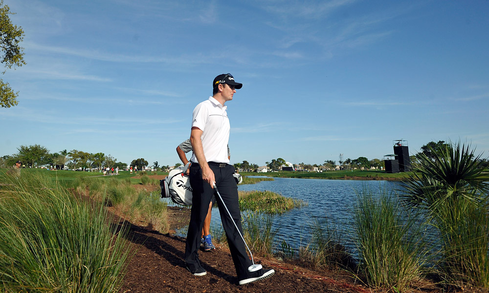 Justin Rose put together a round of 66 to take a share of the lead.