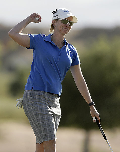 Final Round of the J Golf Phoenix LPGA International                   Karrie Webb won her 36th career LPGA title Sunday after shooting a 5-under 67 in the final round.