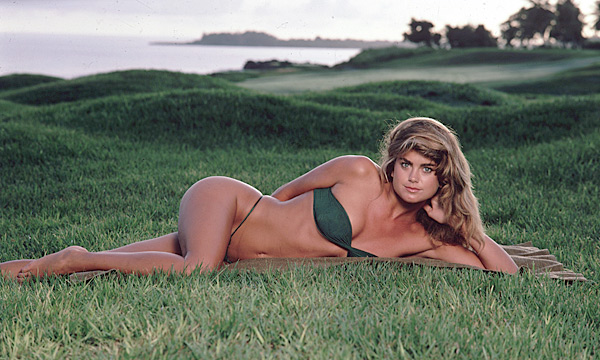 One of the most popular Sports Illustrated swimsuit models ever (pictured here on Teeth of the Dog Golf Course), Ireland hosted an LPGA Tour event, the Kathy Ireland Championship, from 1999-2001.Kathy Ireland:                       One of the most popular Sports Illustrated swimsuit models ever -- pictured here on Teeth of the Dog Golf Course in the Dominican Republic -- Ireland hosted an LPGA Tour event, the Kathy Ireland Championship, from 1999-2001.