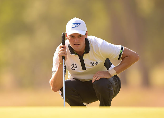 No one came closer than four stokes off Kaymer's lead over the final 48 holes.