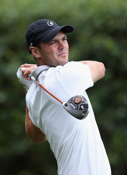 Martin Kaymer dropped to the bottom of the leaderboard after a 76.