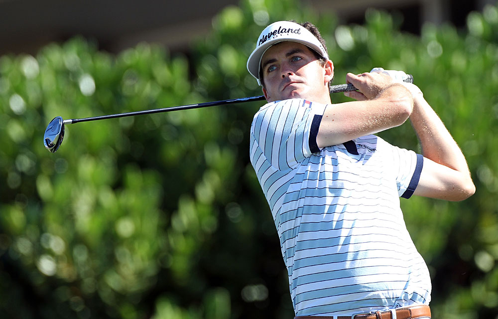 Keegan Bradley shot a four-under 69 thanks to an eagle on No. 9.