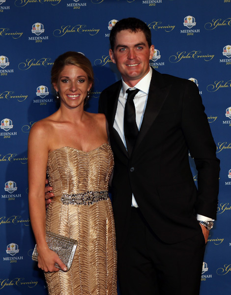 Keegan Bradley and his girlfriend, Jillian Stacey.