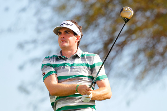 Keegan Bradley fell out of contention after a two-over 73.