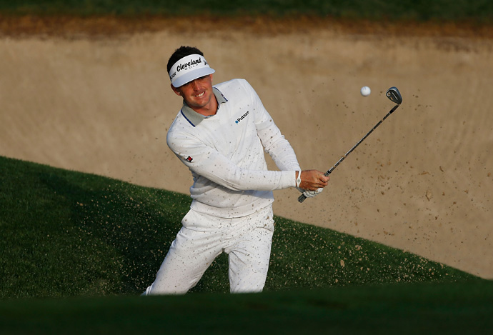 Keegan Bradley made four birdies and two bogeys for a 70.