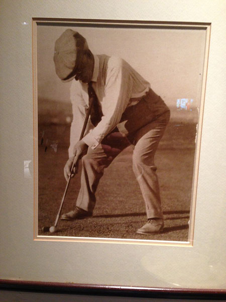 1900s: Just how far back does anchored putting go? This photo, famously tweeted by Keegan Bradley from Riviera this year, shows an early 1900s golfer using a putting stroke that looks very much like Bradley's.