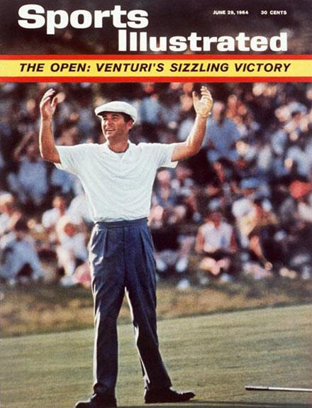 Ken Venturi wins the 1964 U.S. Open at CongressionalJune 29, 1964