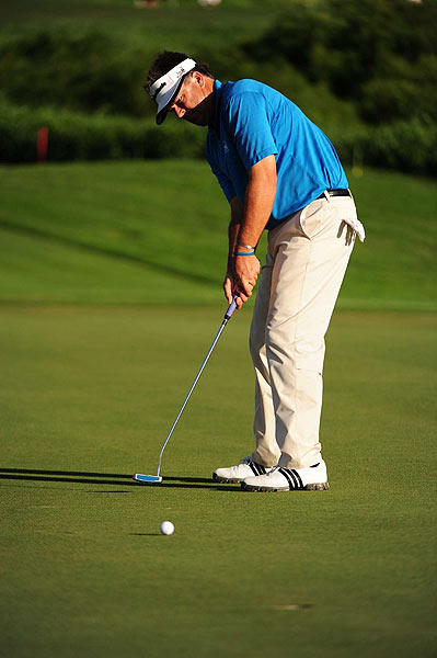 Although he was victorious, Perry did not have a great week on the greens. He took 117 putts (ranked T53) and was tied for 33rd in putting average. He was one of 12 players not to have a three putt, but on the other side, had only 25 one-putts (64th). He also only made five of 24 putts from the 10- to 25- foot range.