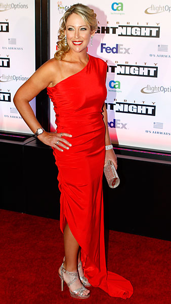 Cristie Kerr at the 2011 Muhammad Ali Celebrity Fight Night awards banquet in Scottsdale.