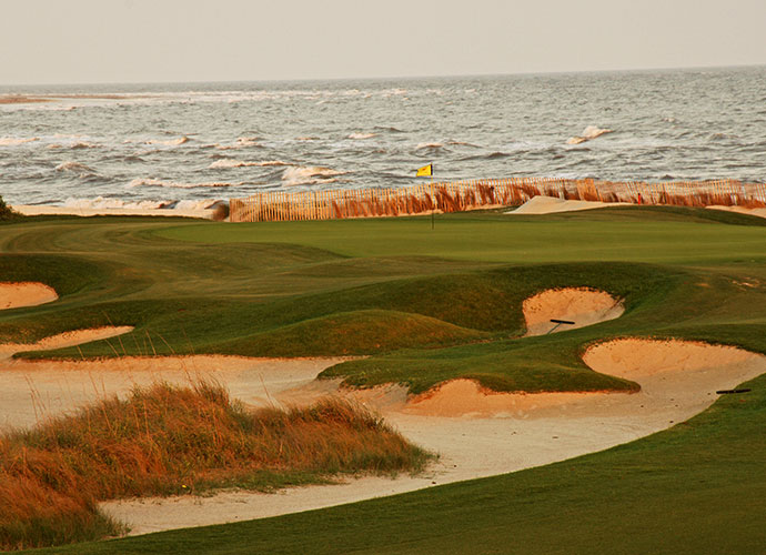 The Ocean Course at Kiawah Island Resort Kiawah Island, S.C.; Pete Dye (1991) -- $280-$390, kiawahresort.com