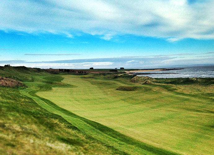 Kingsbarns Golf Links, St. Andrews [800-441-1391, kingsbarns.com]: Co-host of the PGA European Tour's Alfred Dunhill Links Championship, this 1999 Kyle Phillips design 15 miles from the Old Course boasts a World Ranking of 55 and the respect of links fans everywhere.