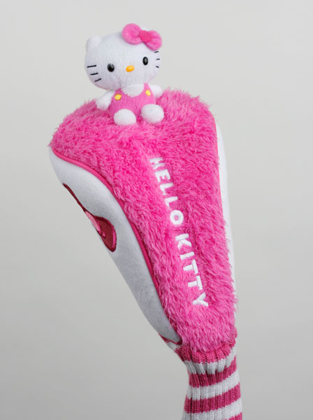 Cat Power: You'll get three holes worth of needling if you show up with a Hello Kitty headcover for your weekly game, which would totally be worth it. Hello Kitty Golf also has bags, balls and ladies' and children's clubs. What does Hello Kitty have to do with golf? Go ask Marmaduke.