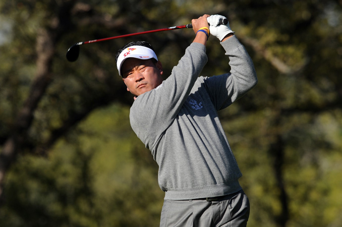 K.J. Choi shot a bogey-free 67 to finish three shots off the lead.