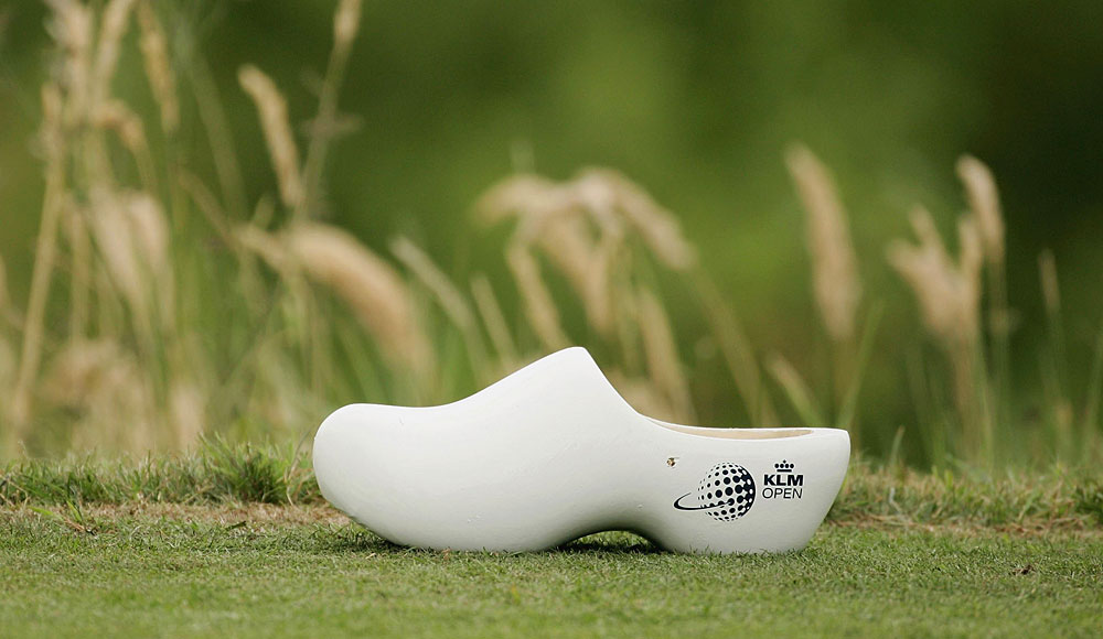A clog at the 2006 KLM Open in the Netherlands.