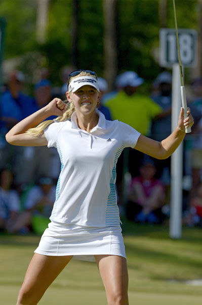 Korda missed the cut at the Shoprite LPGA Classic in her last event before the U.S. Women's Open, but she won her third professional LPGA tournament at the end of May at the Airbus LPGA Classic.