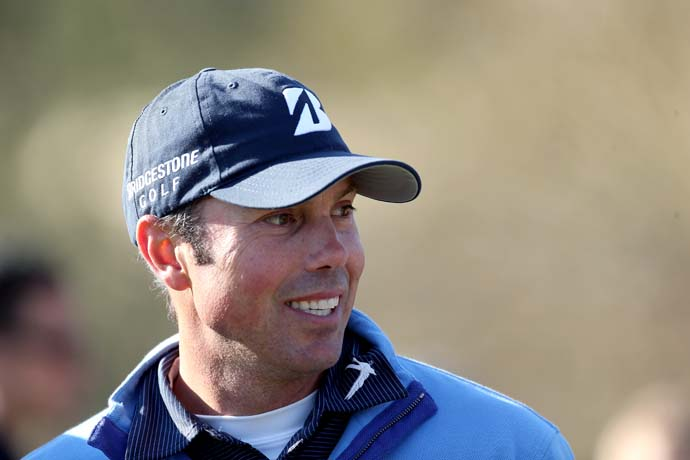 """As far as golf being athletic, I would say, go try it, let's see how well you do. It's a hard game.""                       --Matt Kuchar on what he'd say to someone who thinks golfers aren't athletes."