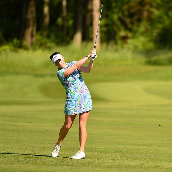 "Pressel was upset with the ruling. ""I think that slow play is one of our biggest problems on tour,"" Pressel said. ""I think that what bothers me the most is that we were given sufficient warning and she really didn't do anything to speed up and then I was penalized for it."""