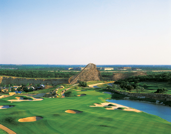 Westin La Cantera (Resort) -- San Antonio                       Former University of Texas great Justin Leonard triumphed three times over this Weiskopf/Morrish creation -- twice shooting 19-under-par 261 in the process -- that played host to the Texas Open from 1995 through 2009. ($69-$140; 800-446-5387, westinlacantera.com)