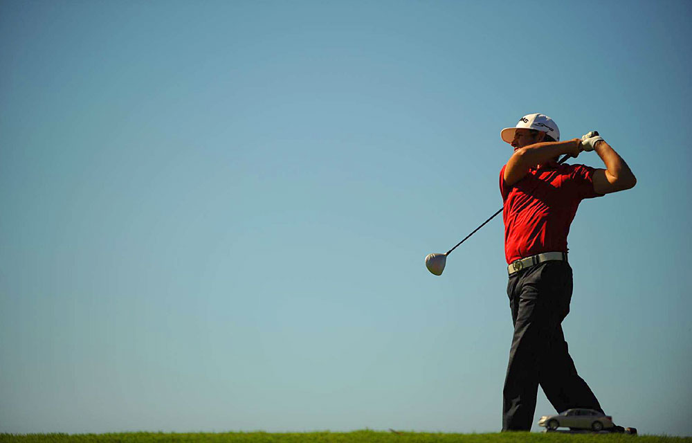 Martin Laird birdied four of the last five holes to finish with a 68.