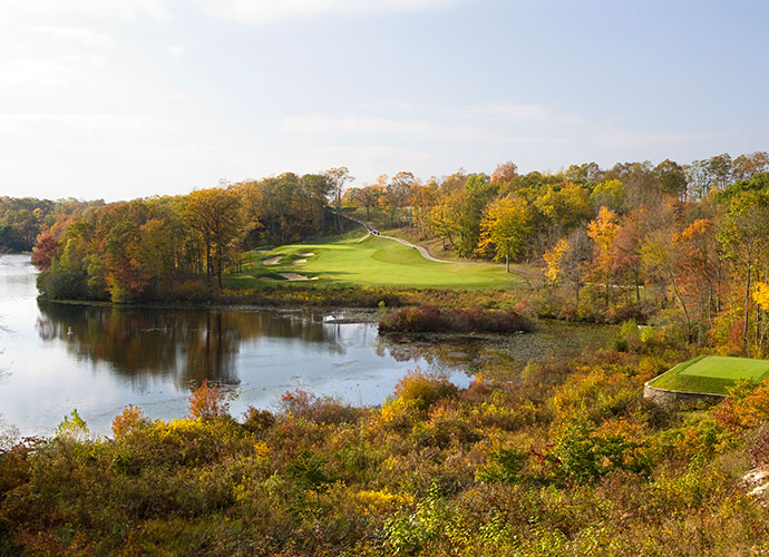 10. Lake of Isles (North), North Stonington, Conn.; lakesofisles.com; $119-$180                       The Mashantucket Pequots pioneered the tribal casino-resort with their prosperous Foxwoods in southeastern Connecticut, yet it wasn't until 2005 that they had a course worth bragging about. Rees Jones chisled two formidable spreads from the rock-studded hills, the public-access North and the South. Wetlands, rock ledges and rolling, forested terrain provide all the golf you could want.
