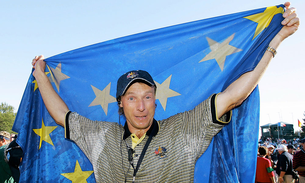 Bernhard Langer captained the Europeans to victory.