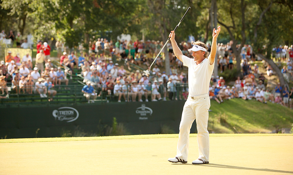 Bernhard Langer                       In recent years, Langer has dominated the Champions Tour with his long putter.