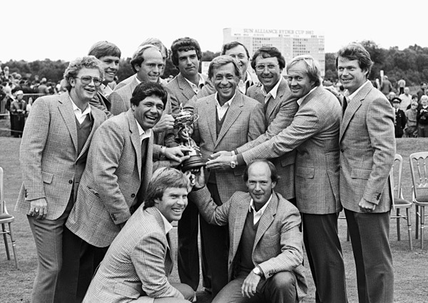 This is the best Ryder Cup team ever assembled if you go by Hall of Fame members and major victories. Of the 12-man team, nine are in the Hall of Fame and 11 have won a major championship. It was a thrill to be a part of the team [which beat Europe 14.5-13.5].