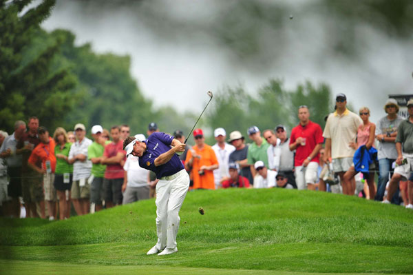 was once again close to his first major win, shooting 70-72-73-70 for a T3.