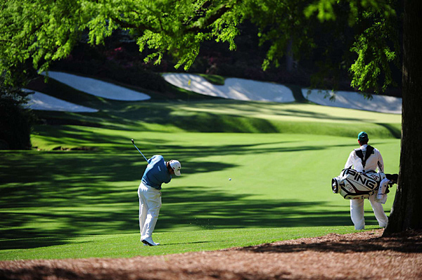 Westwood shot 69 Friday to go with Thursday's 67.