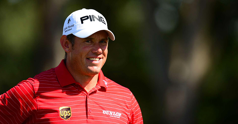 Lee Westwood birded 18 to finish tied for fifth.