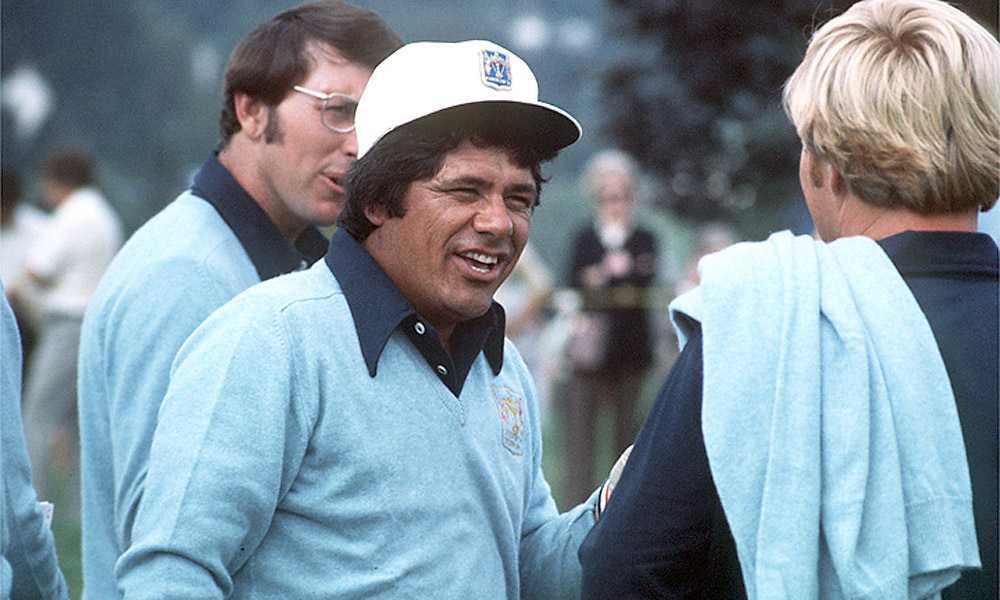 Lee Trevino, Ryder Cup Record: 17-7-6                       Trevino had a reputation as a consummate competitor on the course, a quality that did him well as a player in the Ryder Cup. Unfortunately, his captaincy in 1985 saw the U.S. lose the Cup for the first time since 1957.