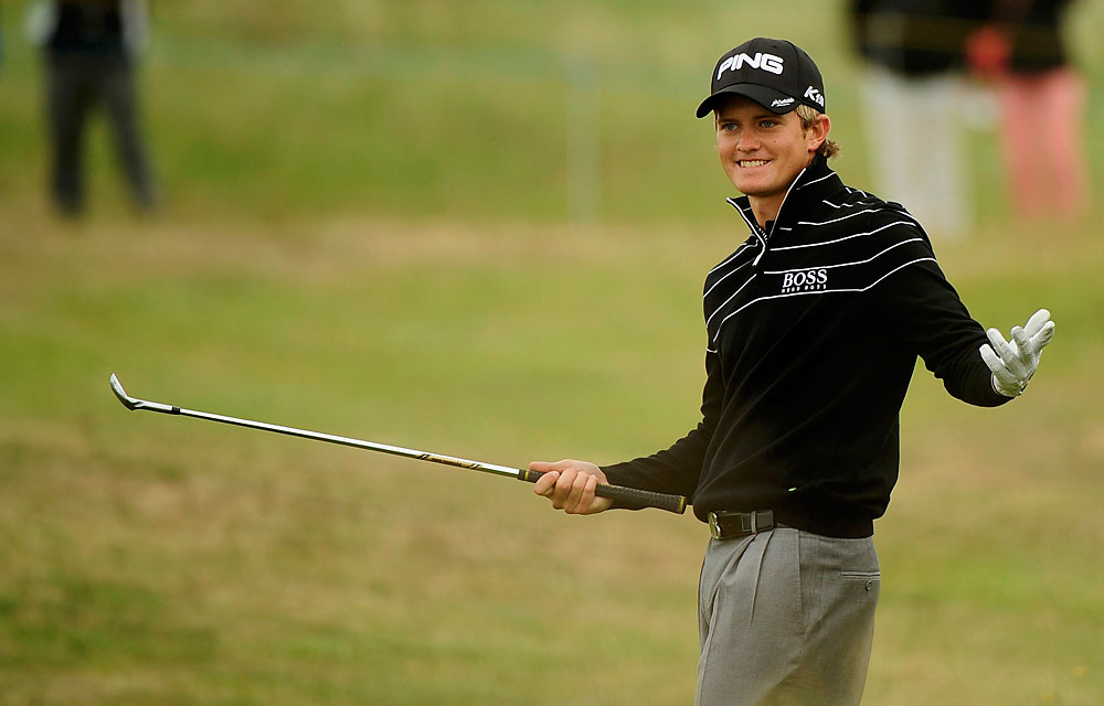 Tom Lewis was named after Tom Watson and grew up in the same hometown as Nick Faldo, so was there ever a doubt he'd be a pro golfer? Lewis shined at the British Open, finishing as the low amateur while playing the opening two rounds with Watson. Three months later, Lewis came from four shots back on Sunday to win his first European Tour event at the Portugal Masters.