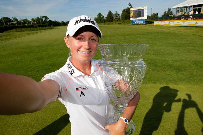 Lewis has finished in the top-10 in 85 percent of her tournaments, including winning the North Texas LPGA Shootout and the ShopRite LPGA Classic this season.