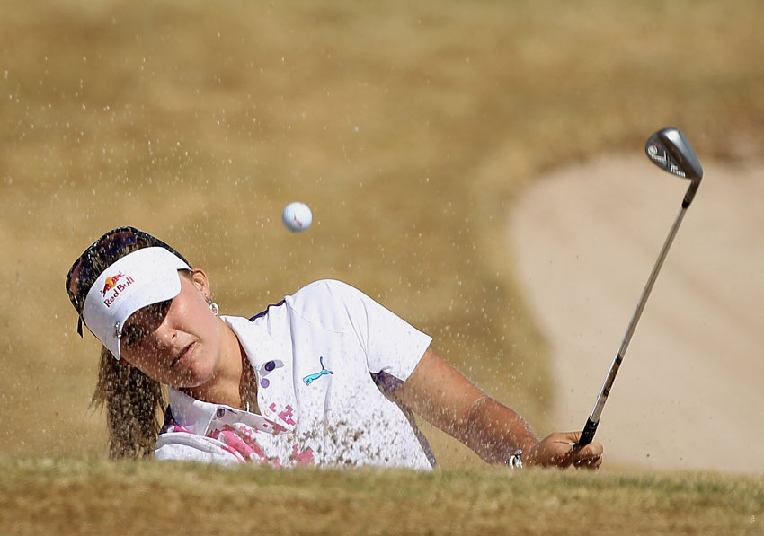 Lexi Thompson made six birdies and five bogeys for a 71.