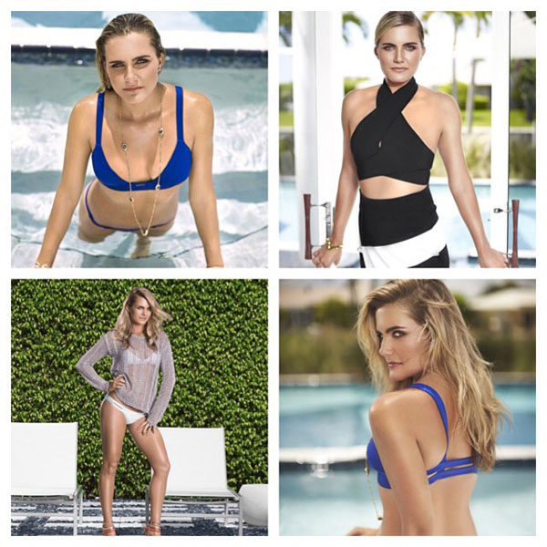 @lexi: Some of my favorite pics from the @golfpunk_magazine shoot :)