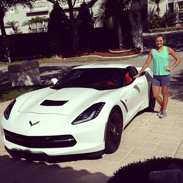 @Lexi: Glad to be back and get to drive my baby for a day :) off to the gym!