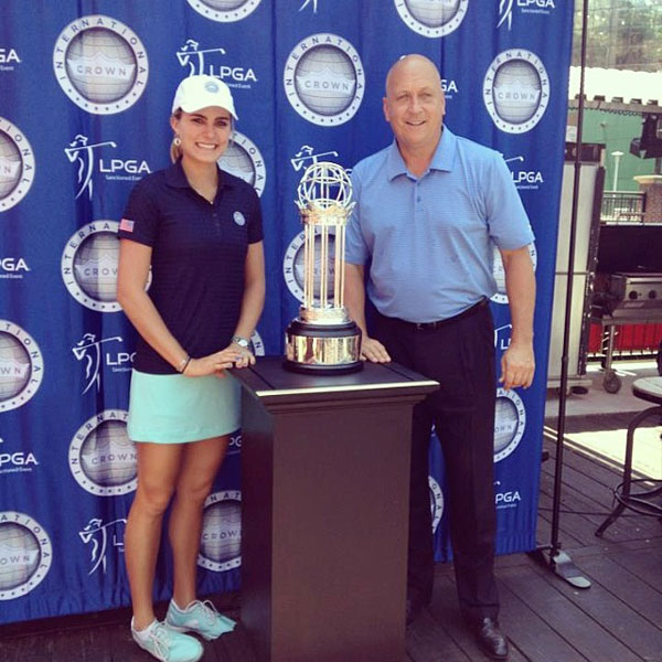 @lexi: Cal Ripken made an appearance at the media day for the @lpgaintlcrown :)