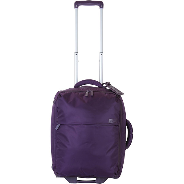 "Lipault 22"" 2-Wheeled Foldable Carry-On, $190; lipault-us.com                       For moms on the go, stylish luggage is a must. Composed of lightweight and soft yet durable 210-denier nylon twill fabric, the bag expands when packed and folds down into its own 4-inch case when not in use, making storage a snap."