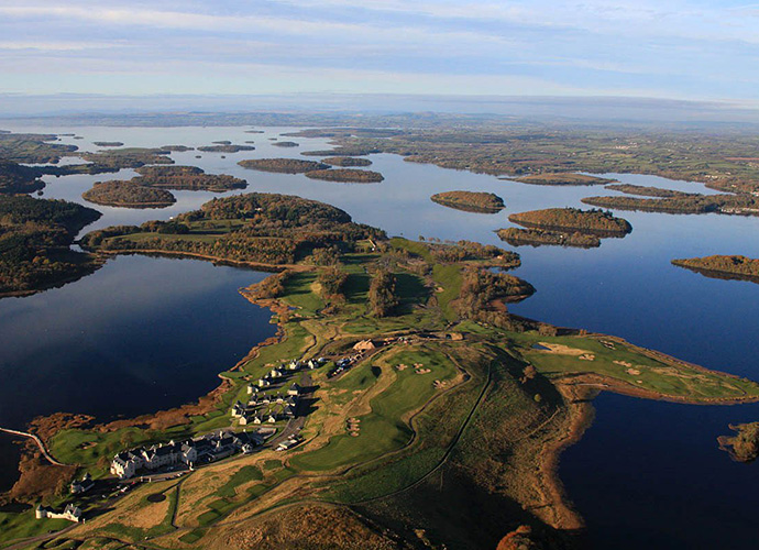 Lough Erne Resort, Enniskillen, Co. Fermanagh: Much of Lough Erne's early fame stemmed from its association with its young (and successful) touring professional Rory McIlroy, but today, this five-year-old Nick Faldo design can stand on its own merits. As well it should, thanks to a rugged, gorgeous, parkland design that juts out into its namesake lake and lodging that was good enough to host the 2013 G8 Summit. ($69-$132; 011 44 286 634 5766 lougherneresort.com)